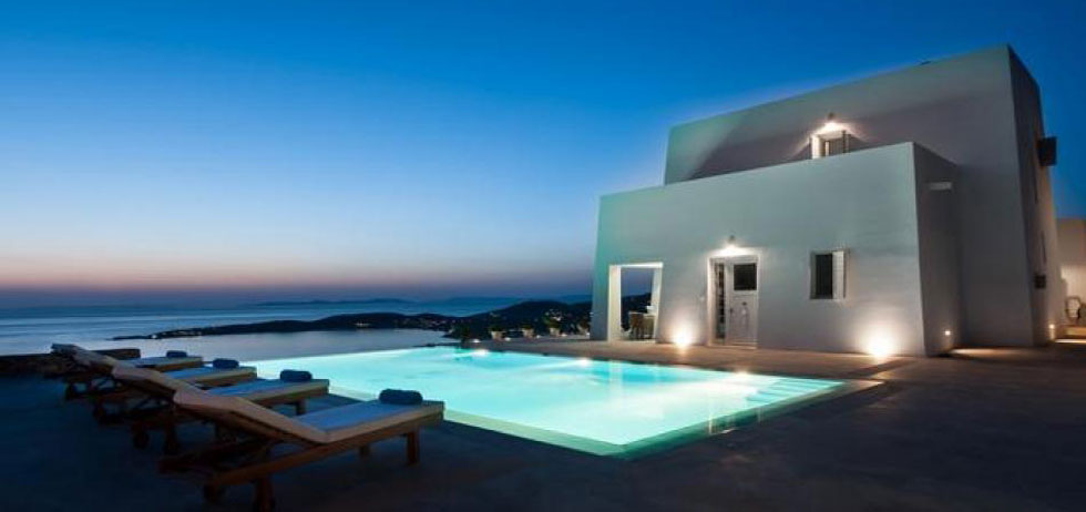 Your Private Dream Villa Home House in Paros Island Greece